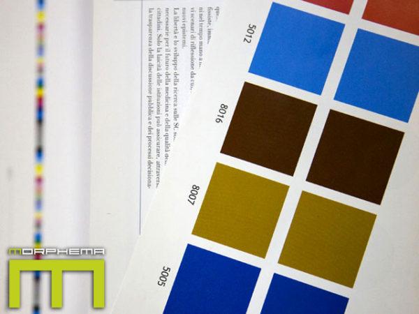 Morphema Tipolitografia prodotti colori